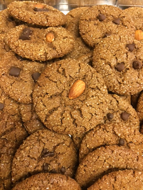Carob Almond Butter Cookie @