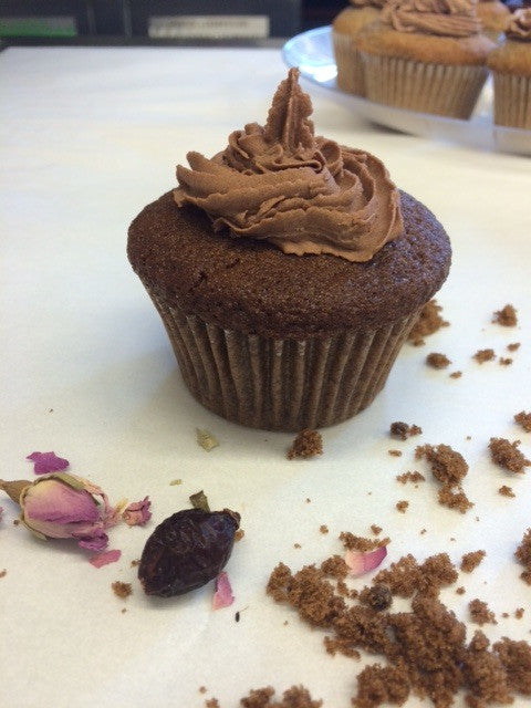 Sprouted Brown Sugar Cupcake@