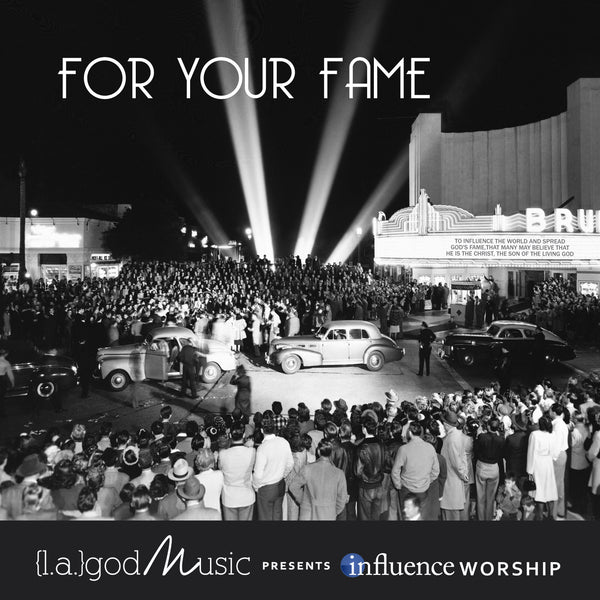 "{l.a.} god Music ""For Your Fame"" CD"