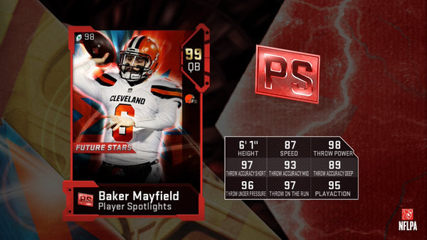 player spotlights madden mut 19