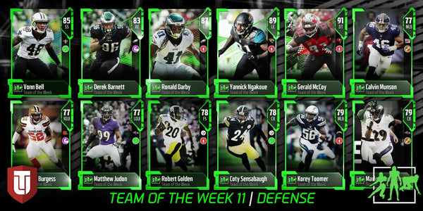 madden mut 18 team of the week