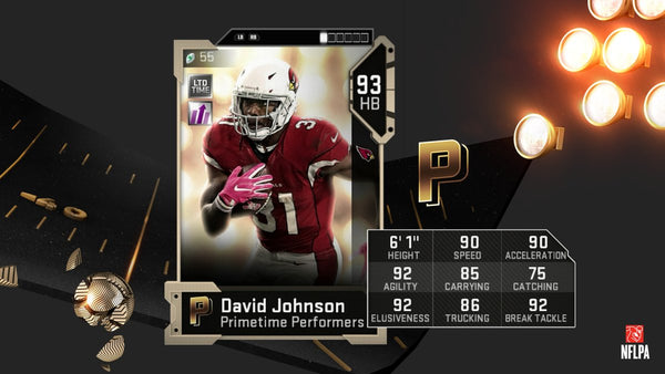 primetime performers madden mut 19 buy coins david johnson