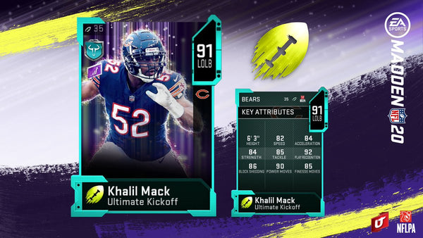 ultimate kickoff madden mut 20