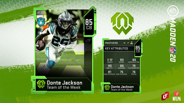 team of the week madden mut 20
