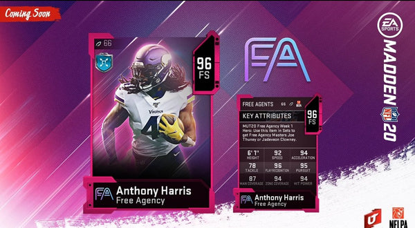 free agency promo madden mut 20