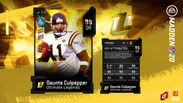 Ultimate Legends Week 17 - Mr. MUT Coin