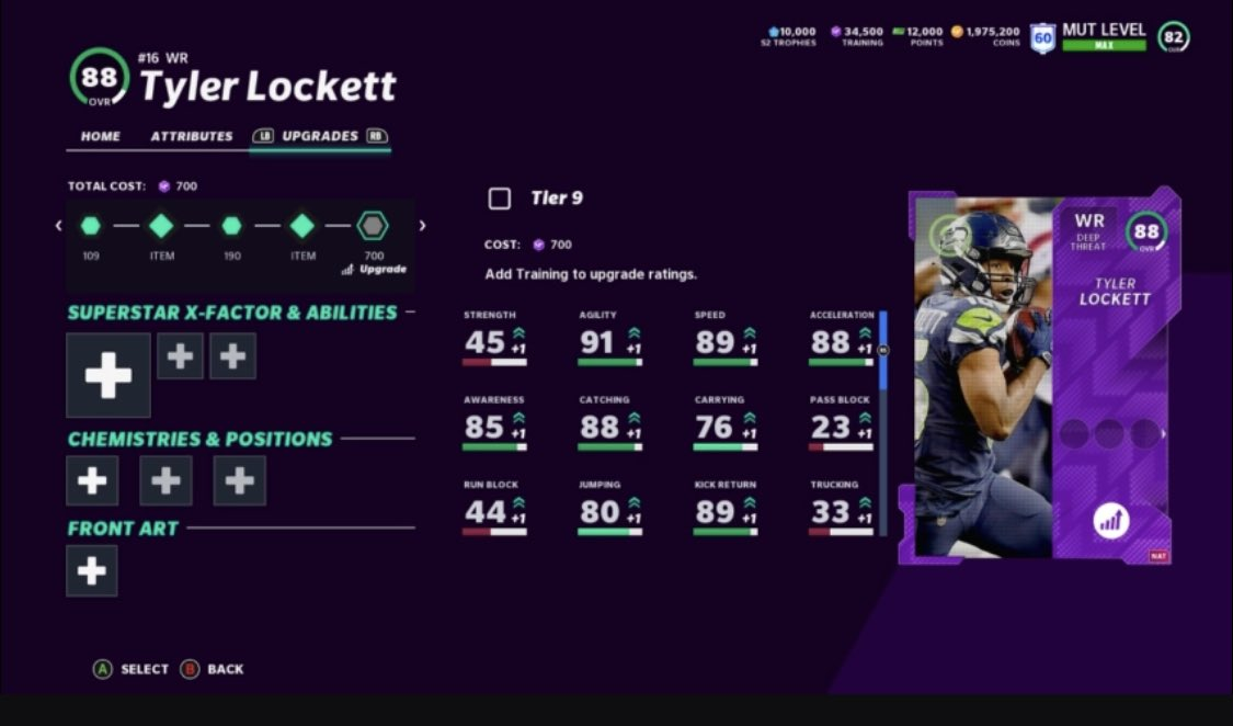 team of the week madden mut 21