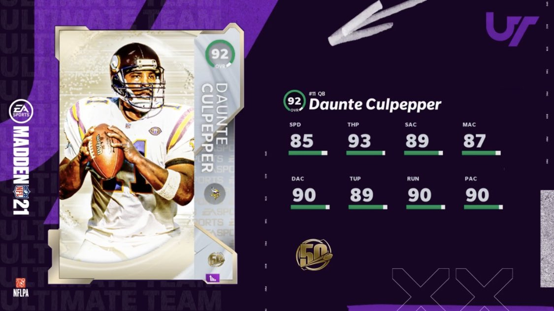 the 50 madden mut players coins