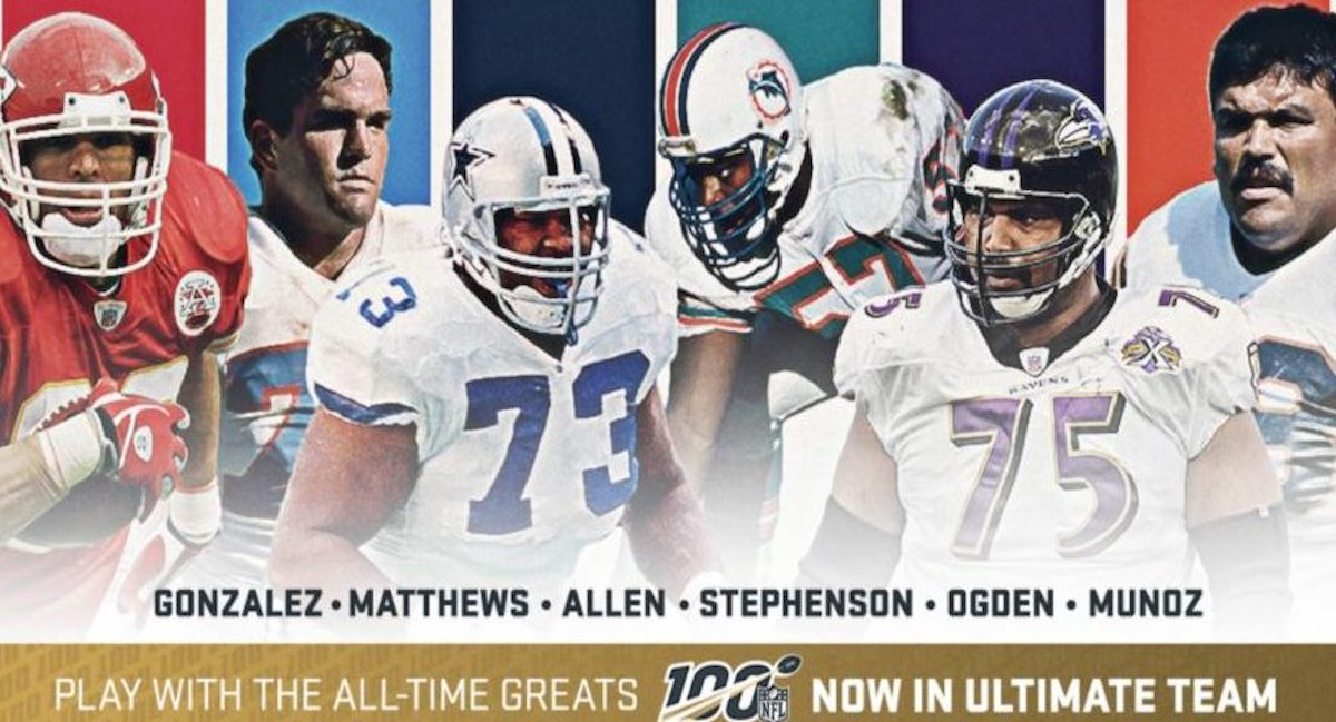 nfl 100 lineman tight end madden mut
