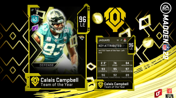 madden mut team of the year