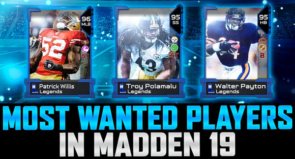 Madden Mobile Christmas Promo.Madden 19 Most Wanted Mr Mut Coin