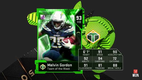 madden mut 19 team of the week