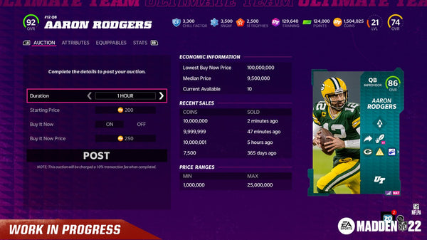 mut 22 auction house changes