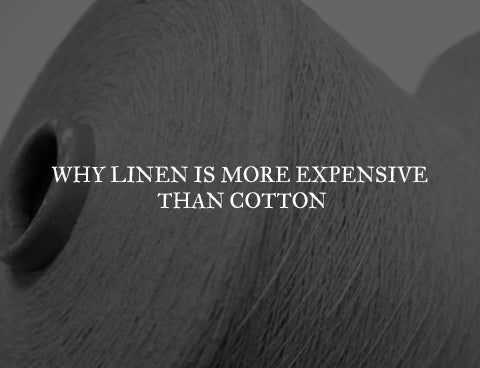 why linen is more expensive than cotton