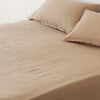 Almond Fitted Sheet