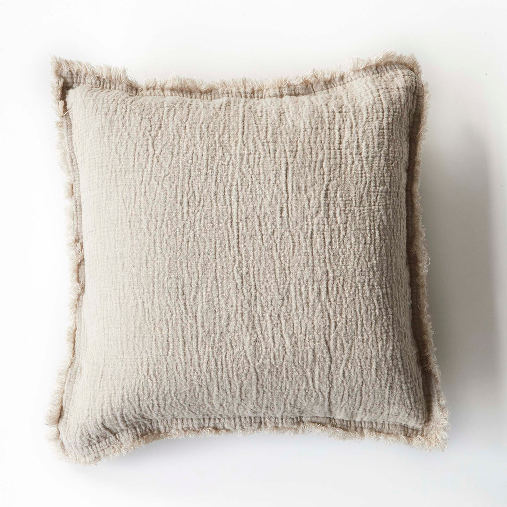 Natural Blanket Cushion