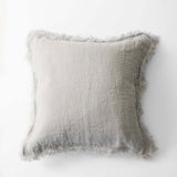 Light Grey Blanket Cushion