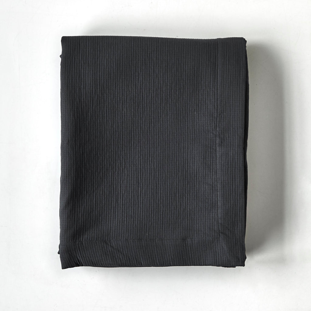 Charcoal Cotton Blanket