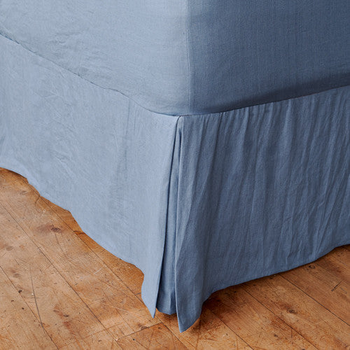 Vintage Denim Blue Valance