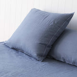 Vintage Denim Blue European Pillowcases