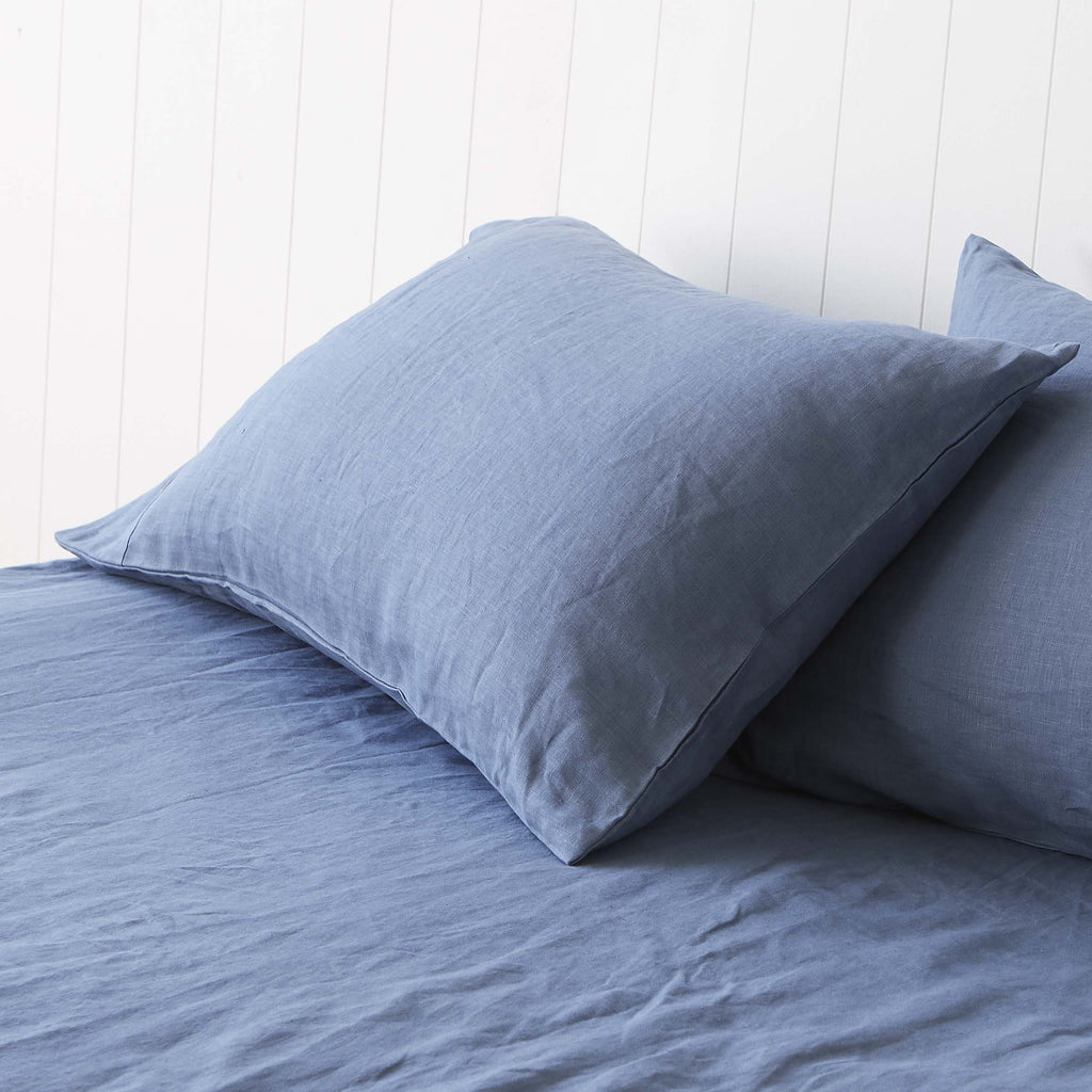 Vintage Denim Blue Pillowcases