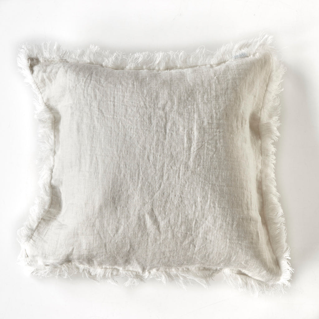 Ivory Blanket Cushion