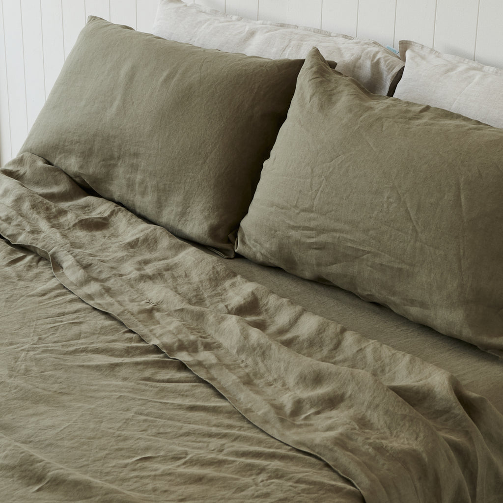 Army Green Flat Sheet