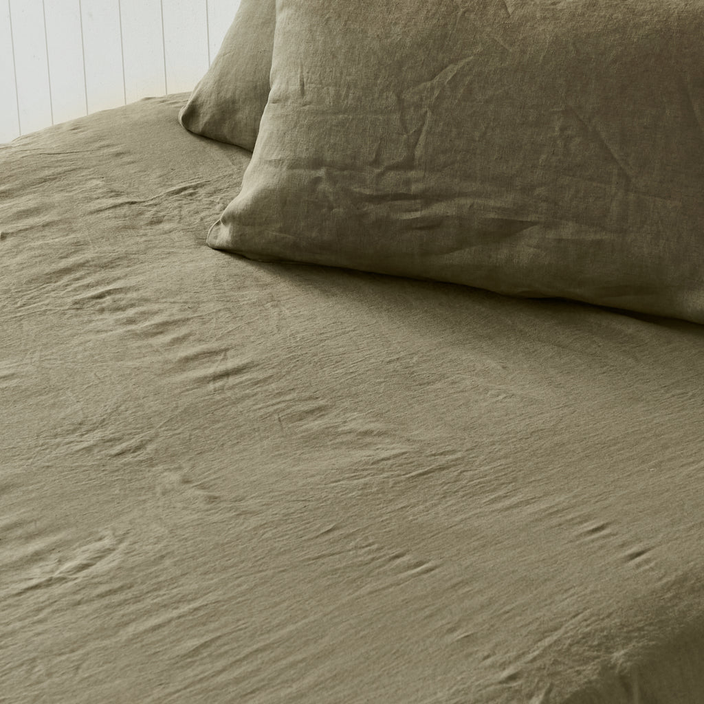 Army Green Fitted Sheet