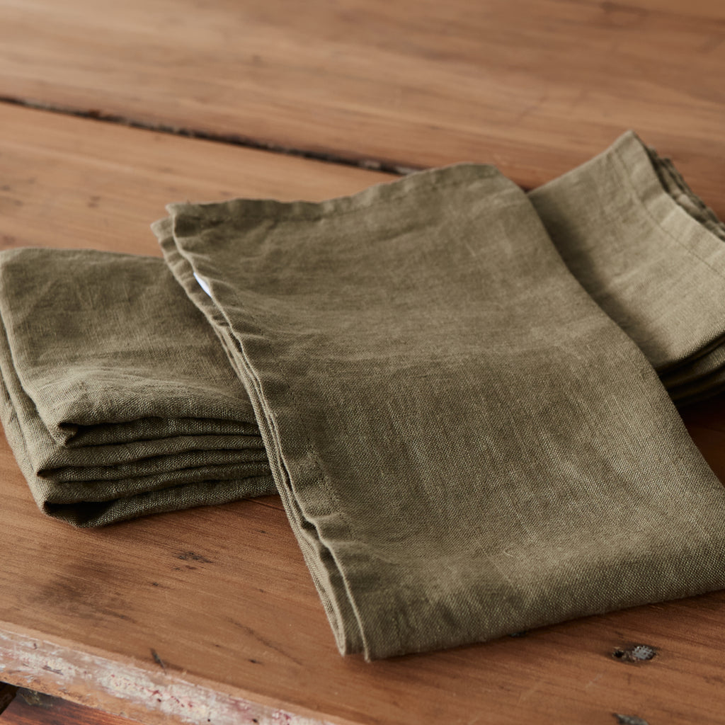 Army Green Napkins