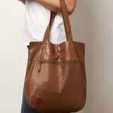 Montauk Leather Tote