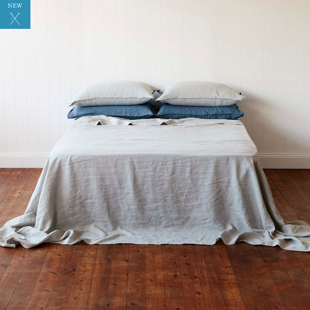 Manhattan Grey Flat Sheet