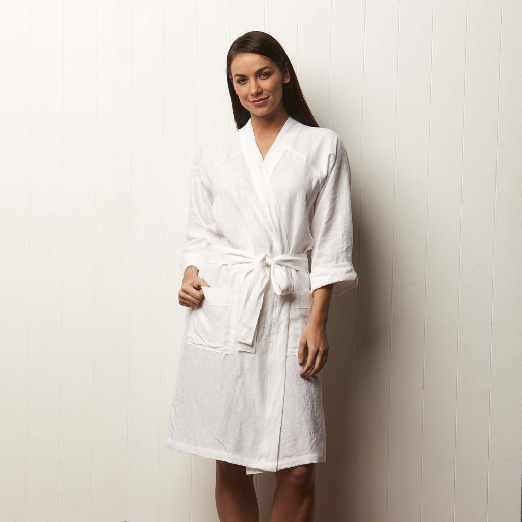 Milkcloud White Robe
