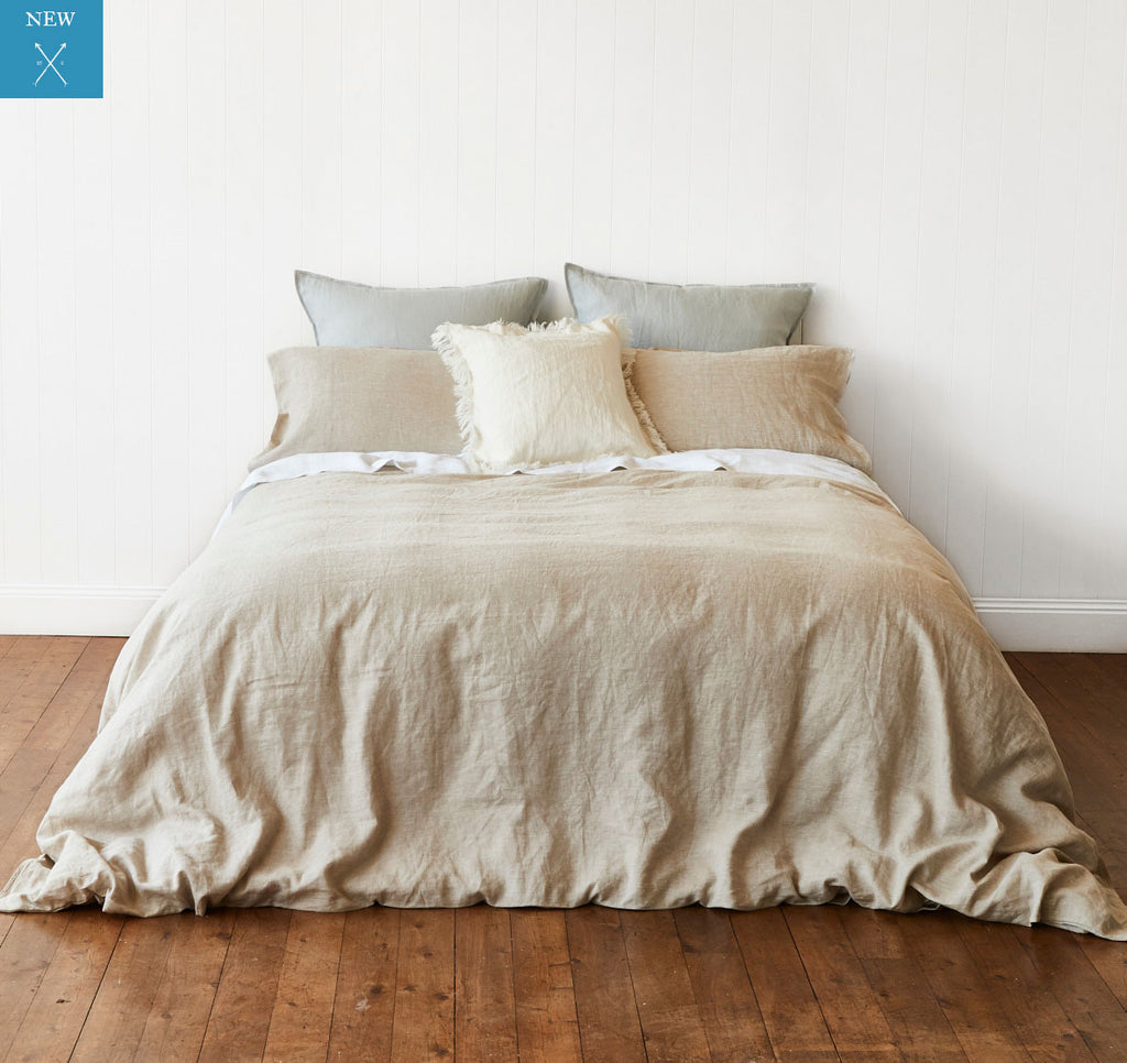 Natural Quilt Cover Montauk Style