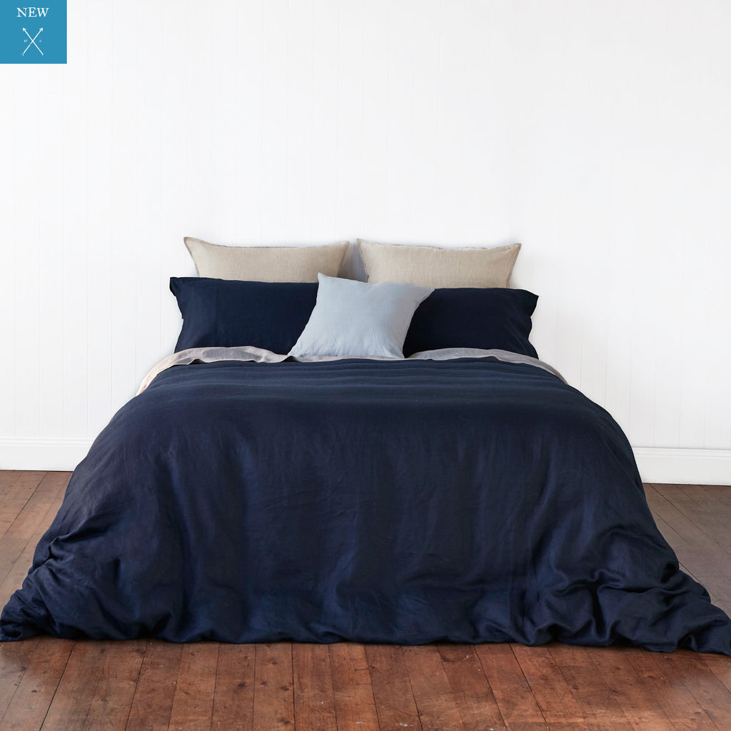 Classic Navy Quilt Cover