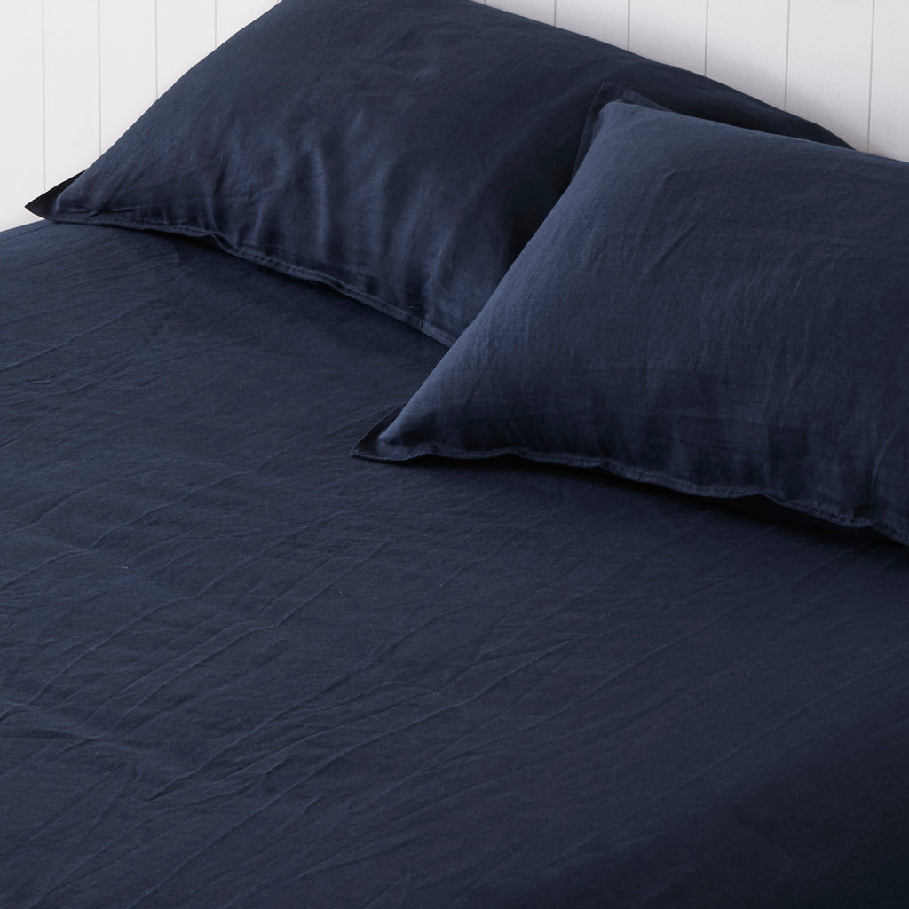 Classic Navy Fitted Sheet