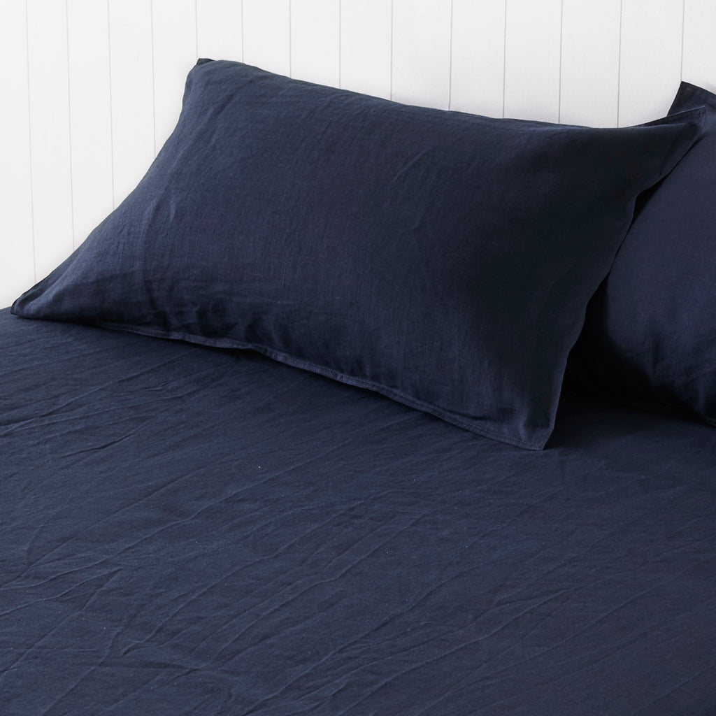 Classic Navy Sheet Set