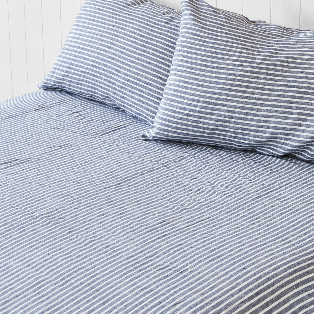 Ocean Stripe Sheet Set