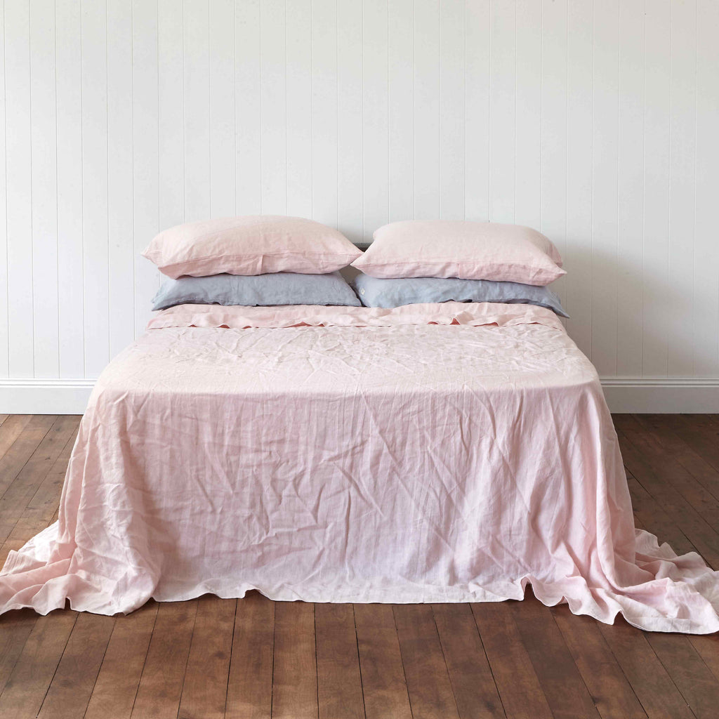 Powder Rose Flat Sheet