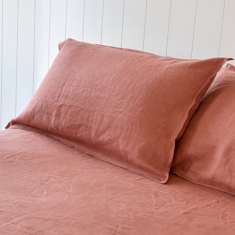 Powder Rose Pillowcases