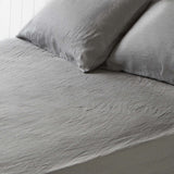 Storm Grey Fitted Sheet