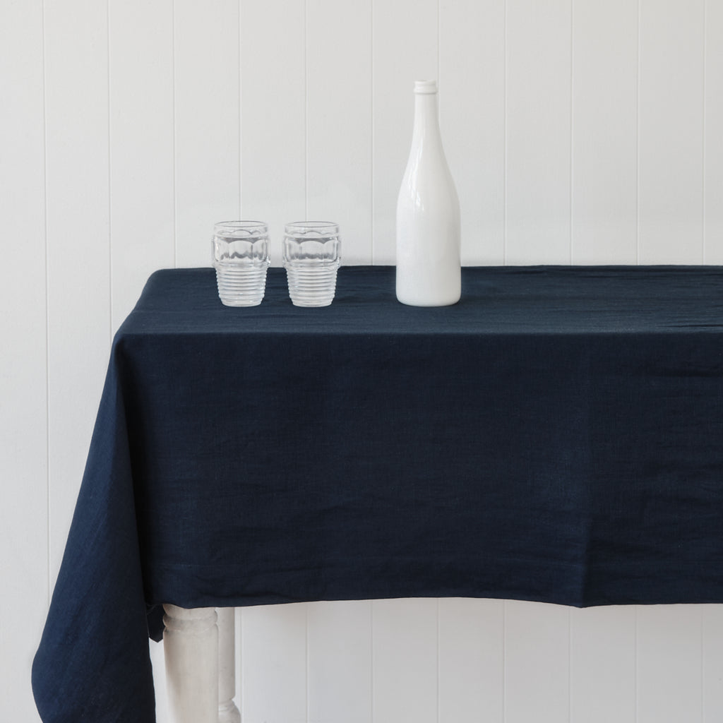Classic Navy Table Cloth