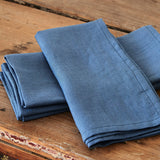 Vintage Denim Blue Napkins