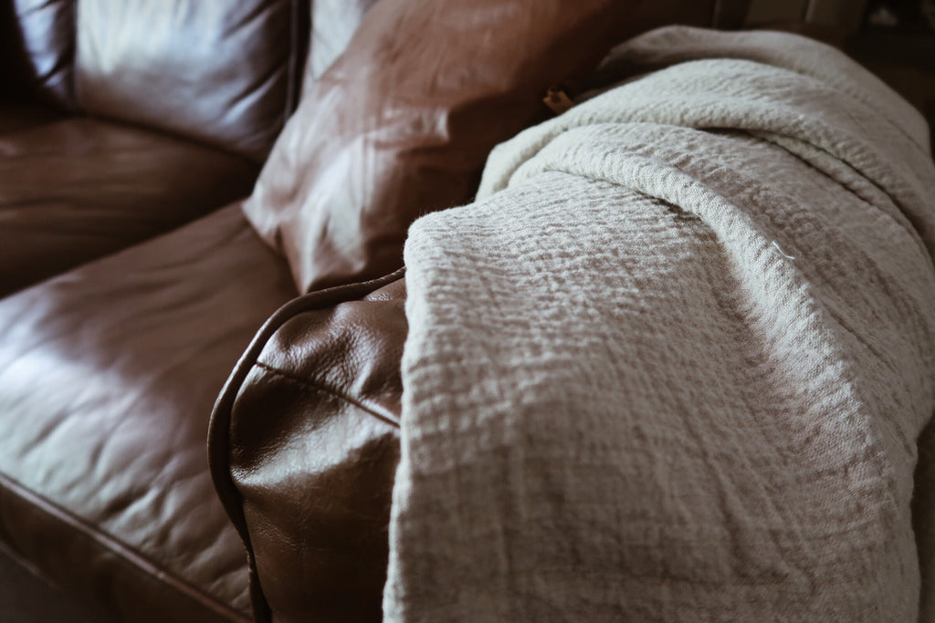 Walnut Linen Blanket