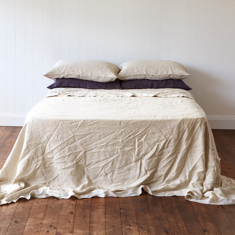 Milkcloud White Sheet Set