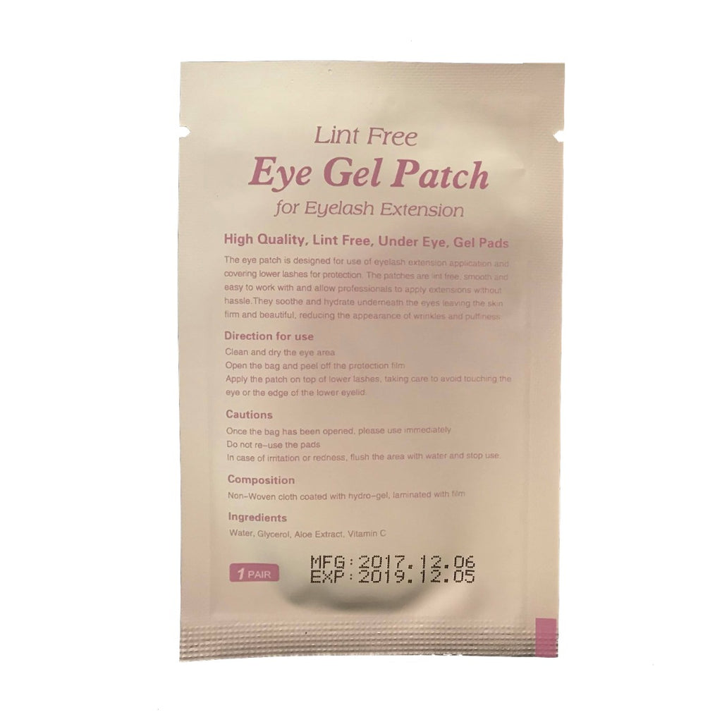 Lint Free Eye Gel Patch - Lilac (50 pack)