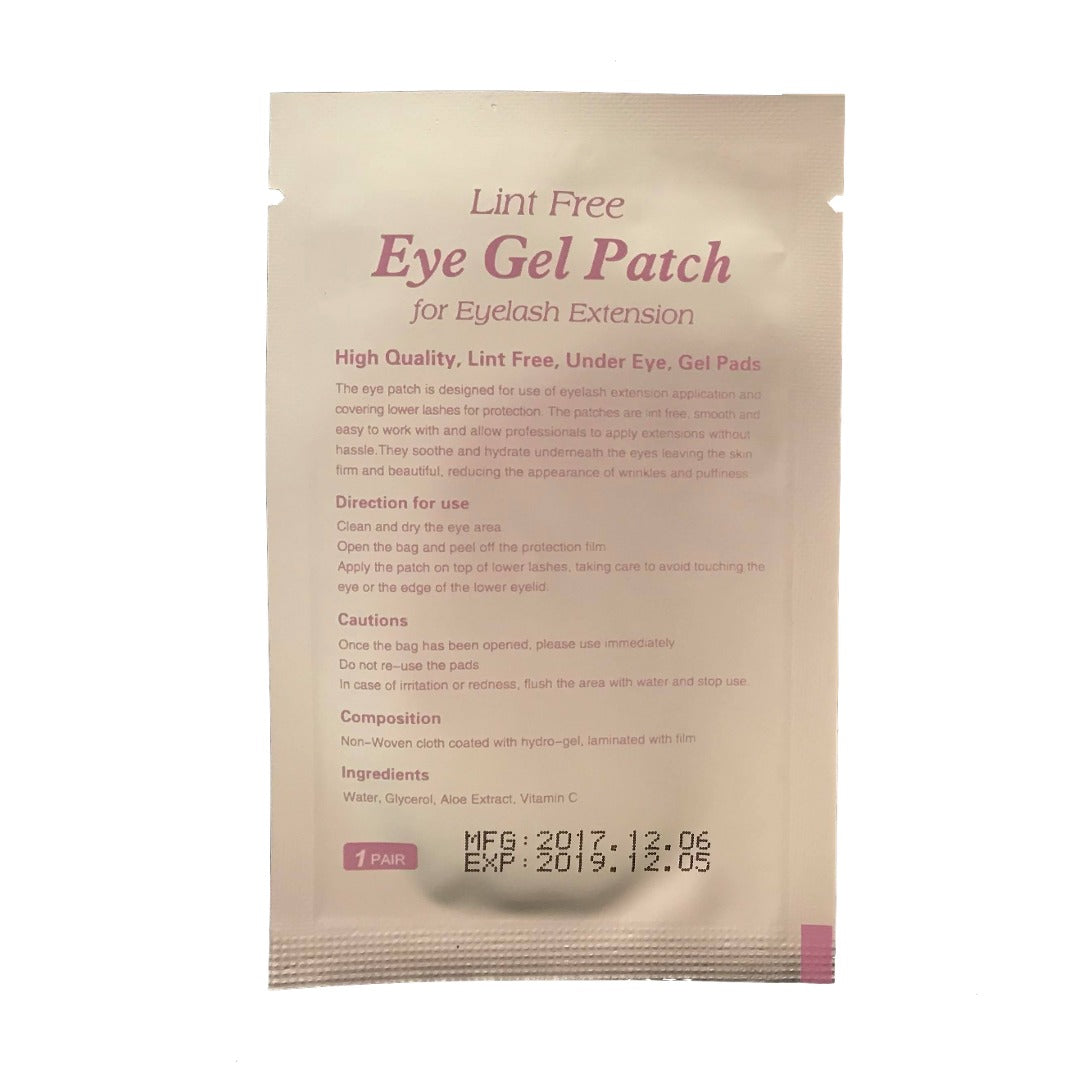 Lint Free Eye Gel Pads - Lilac (20 pack)