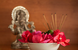 Significance of Flowers in Puja