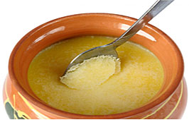 Use of Ghee in a Puja