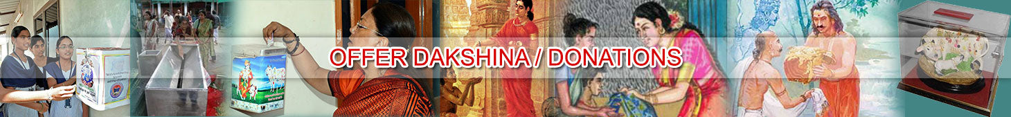 Offer Dakshina / Donation