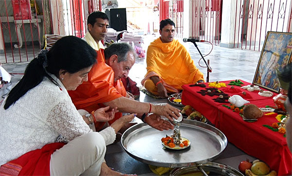 Consecration in Hinduism